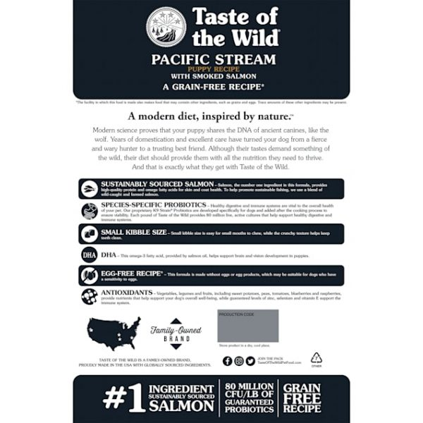 Taste Of the Wild Pacific Stream Nutrition Guide