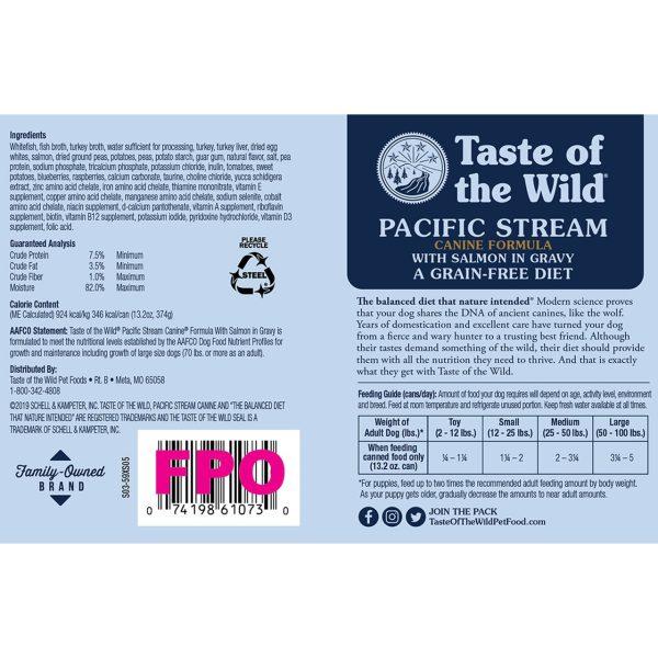 Taste of the wild pacific stream ingredients