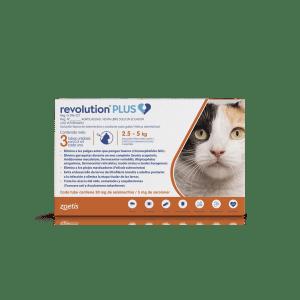 Pipeta para gato Revolution Plus 5kg